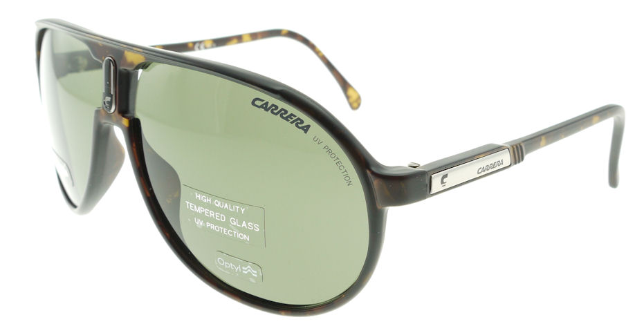 b049214f543 carrera champion h i dark havana   green sunglasses h i s