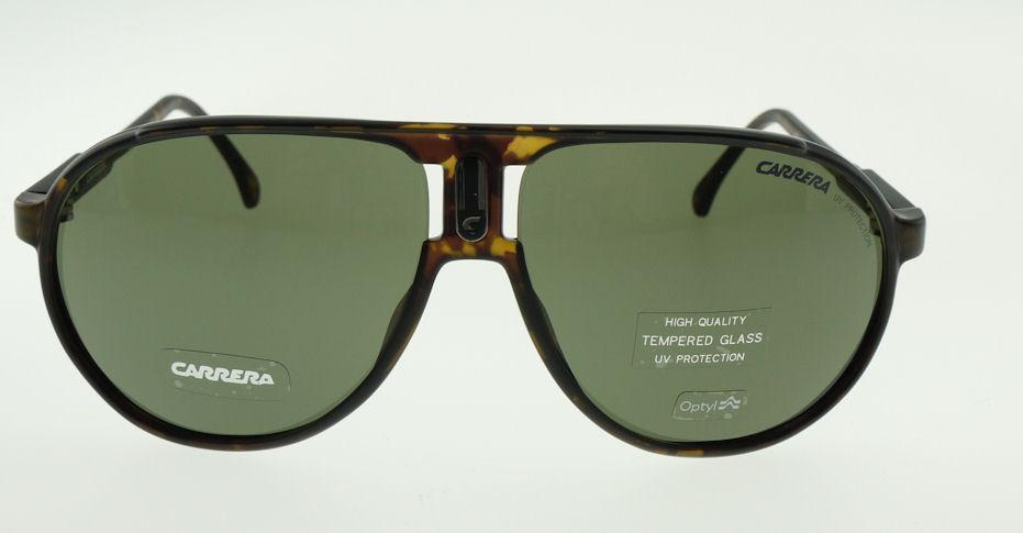 399eb9762d9 CARRERA CHAMPION H I DARK HAVANA   GREEN SUNGLASSES H I S