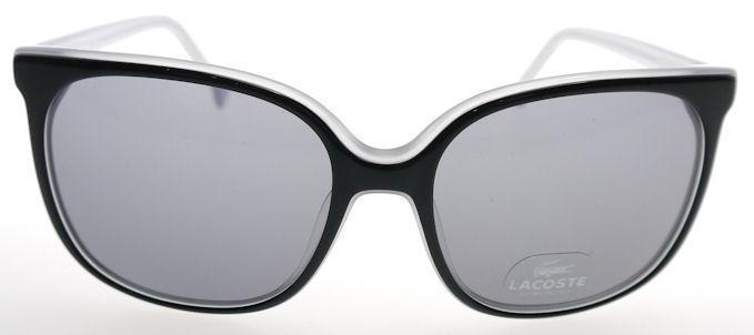 1e04da67c980 Lacoste Black & Clear / Gray L602S 001 Sunglasses