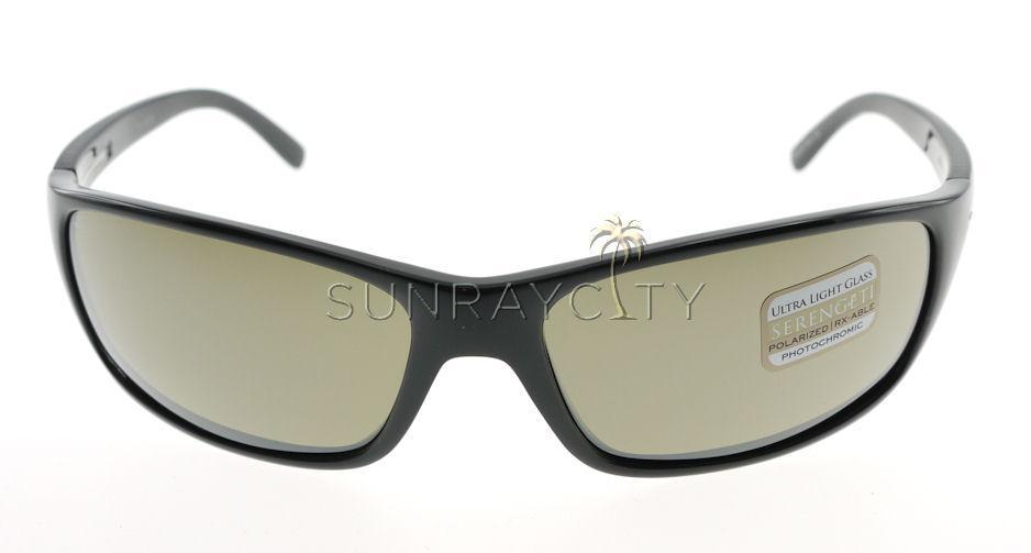 05c83617a291fe Serengeti Pisa Shiny Black   Polarized 555nm Sunglasses 6948