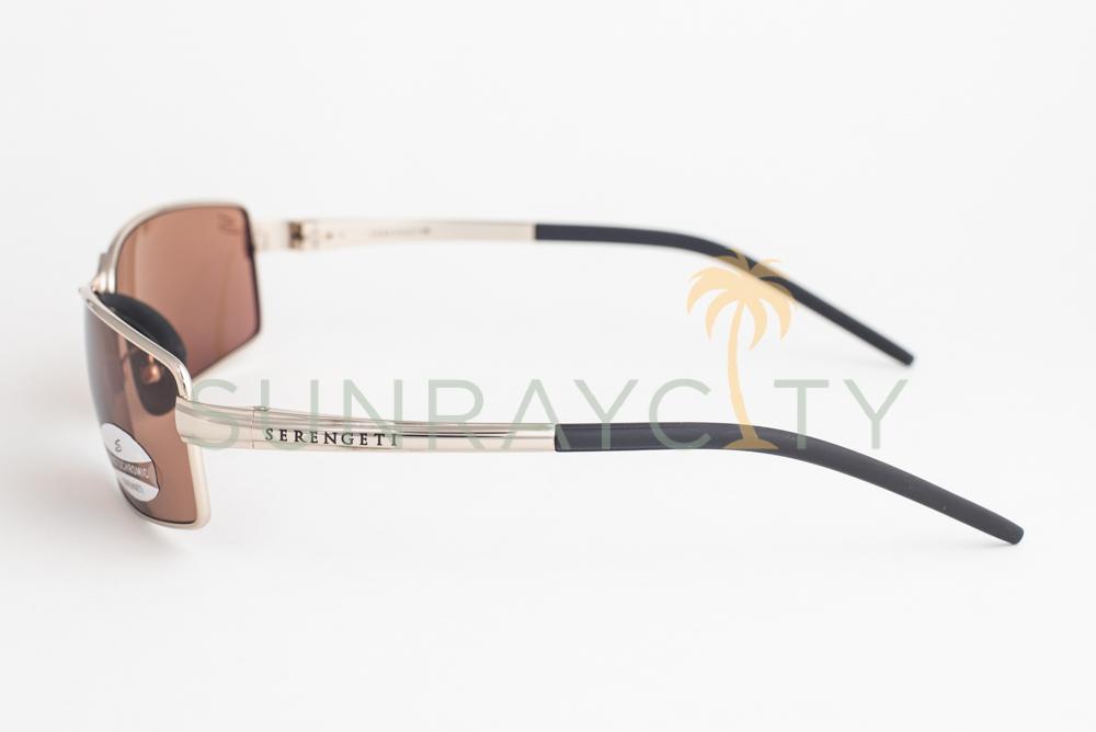 Drivers Sunglasses 7304 Serengeti Verona Shiny Gold