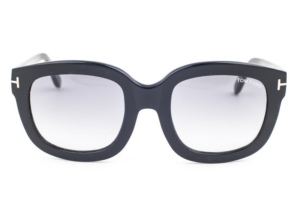 b4141cec04 Tom Ford Christophe Shiny Black   Gray Gradient Sunglasses TF279 01B