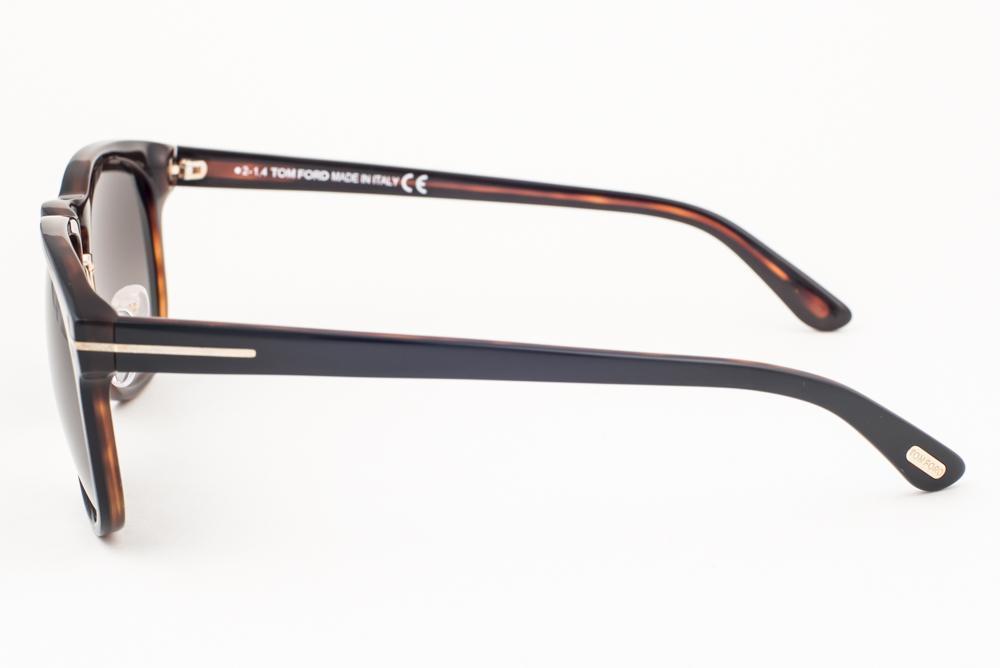 acec18e6446 Tom Ford Franklin Black   Gray Gradient Sunglasses TF346 01V