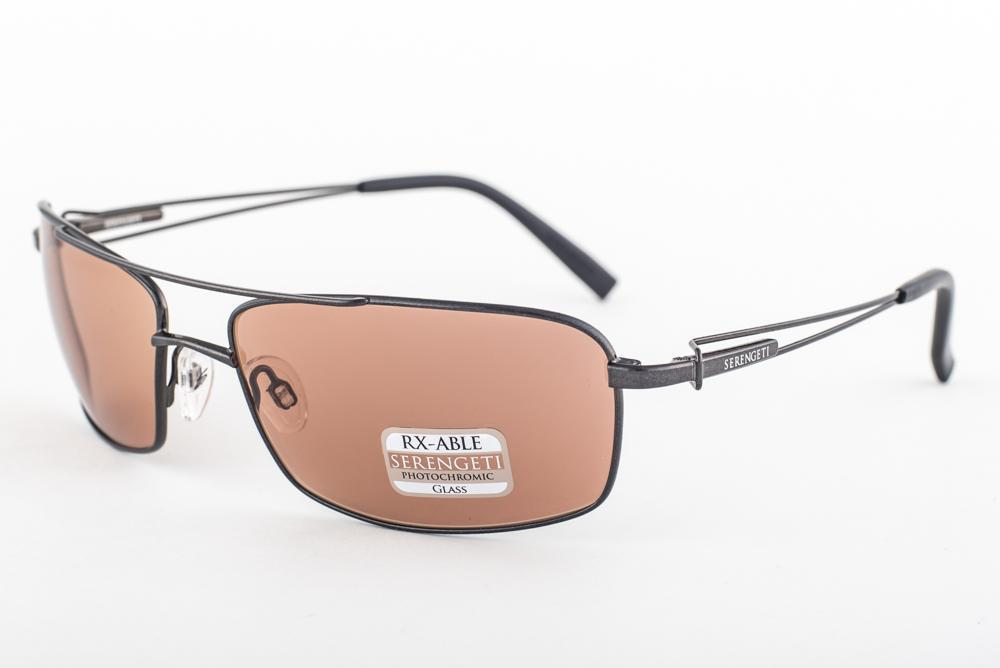 024024ffd499 Serengeti Dante Shiny Dark Gunmetal Drivers Sunglasses 7888