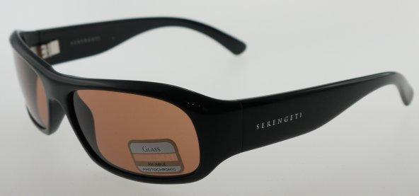 36ef269ff960 Serengeti Genova Shiny Black / Drivers Sunglasses 7451