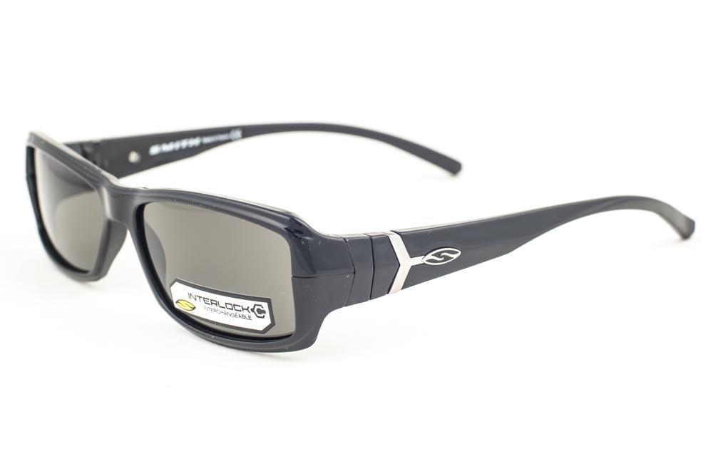 cee3bb1cf05 Smith Crossroads Shiny Black   Gray D28 Sunglasses