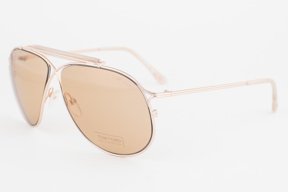 Tom Ford Magnus Gold Brown Sunglasses Tf193 28e