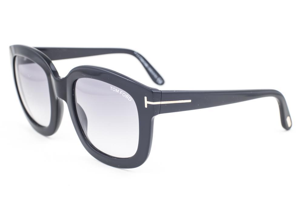 e210806bc0 Tom Ford Christophe Shiny Black   Gray Gradient Sunglasses TF279 ...