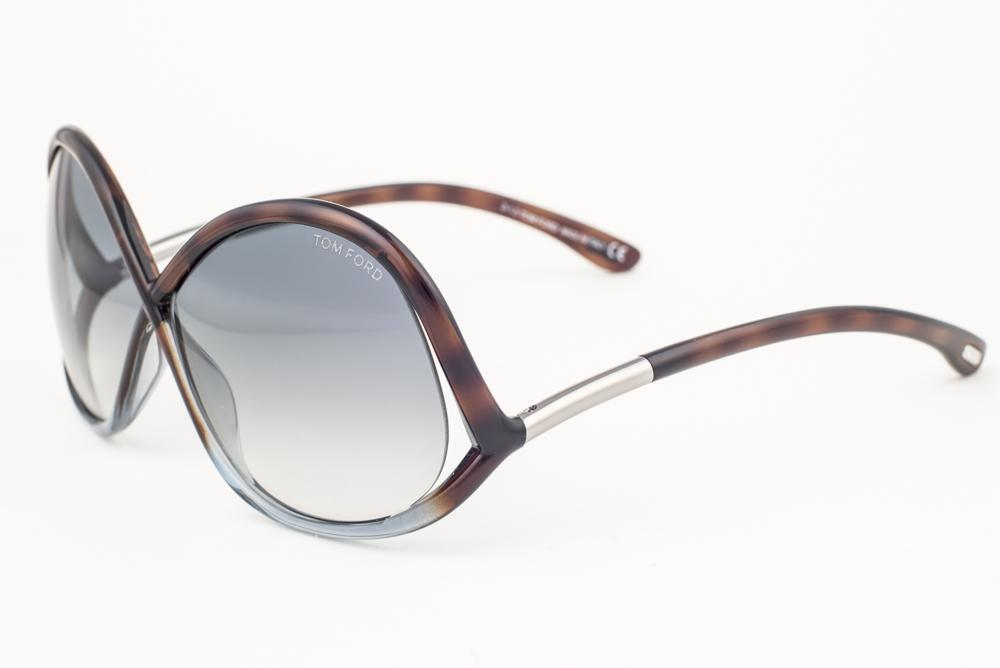 601306f69b Tom Ford Ivanna Havana   Blue Gradient Sunglasses TF372 53W