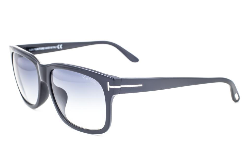 1c44fb4675 Tom Ford Barbara Black   Gray Gradient Sunglasses TF376 02N 60mm