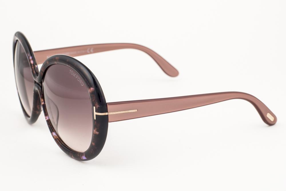 d954f304cb Tom Ford. Tom Ford Gisella Brown Marble   Gray Sunglasses TF388 50F. Tom  Ford Gisella ...