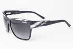 Carrera 42 Horn Black / Gray Gradient Sunglasses 42/S 7J3