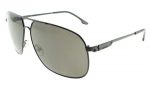 CARRERA 59 MATTE BLACK / GRAY POLARIZED SUNGLASSES 59/S 003 M9