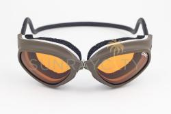 CLiC Bronze Frame / Orange Anti Fog Lens Goggles