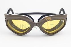 CLiC Bronze Frame / Yellow Anti Fog Lens Goggles
