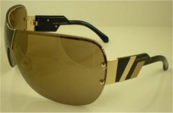 Marc Jacobs 200 OZS Gold Black Tan / Brown Sunglasses