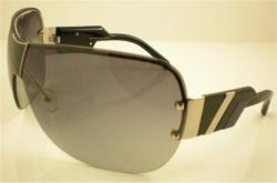 Marc Jacobs 200 OZT Palladium / Shaded Grey Sunglasses